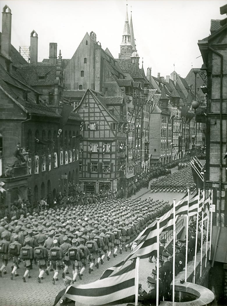 1935 german parade