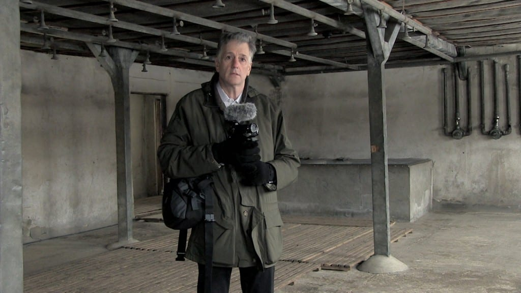 Paul Bachow in Majdanek showers