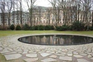 Gypsy Memorial in Berlin, Germany