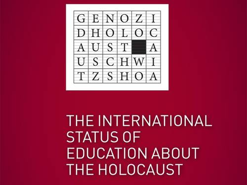 International Status of Education about the Holocaust logo